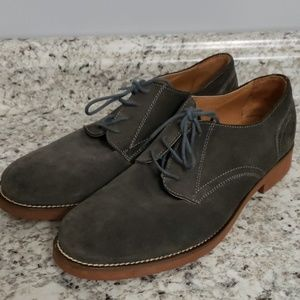 GH Bass & Co Grey Suede Mens Shoes